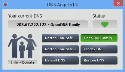 Dns Angel status