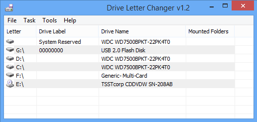Drive Letter Changer Main