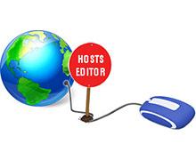 Blue life Hosts editor