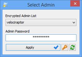 Runastool password screen