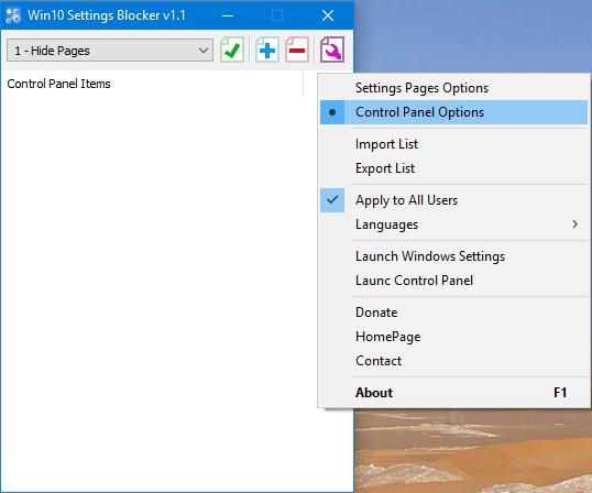 control_panel_options