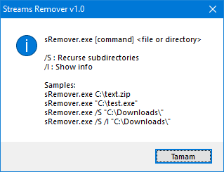 strems remover cmd support