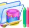 colorful folder with Folder Painter