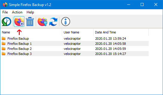 simple firefox backup main
