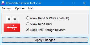 Ratool blocked USB ports