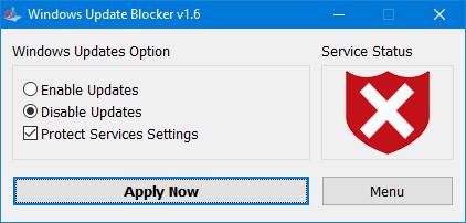 windos update blocker blocked