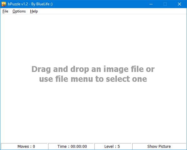 bluelife puzzle main GUI