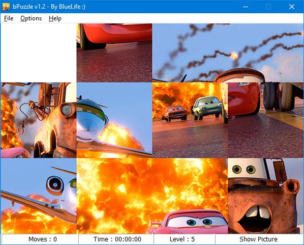 bluelife puzzle slide squares