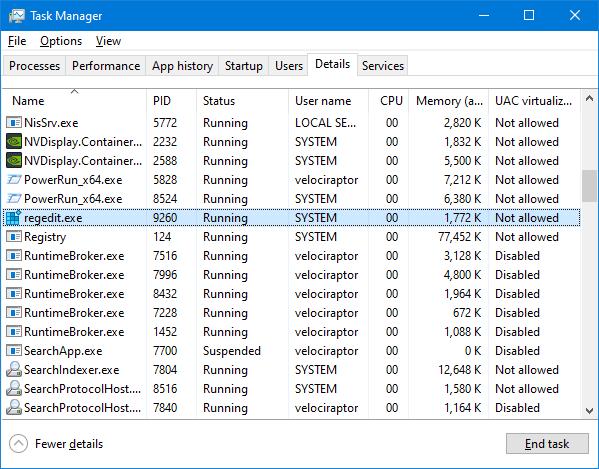 PowerRun run as System