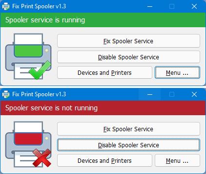 Manage spooler service